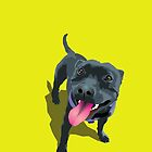 Staffy Lime by Bloomin'  Arty Families