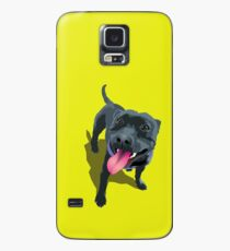Staffy Lime Case/Skin for Samsung Galaxy