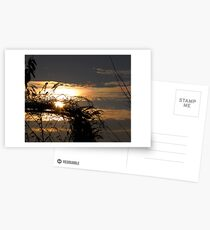 The Beautiful End of a Sunny Day Postcards