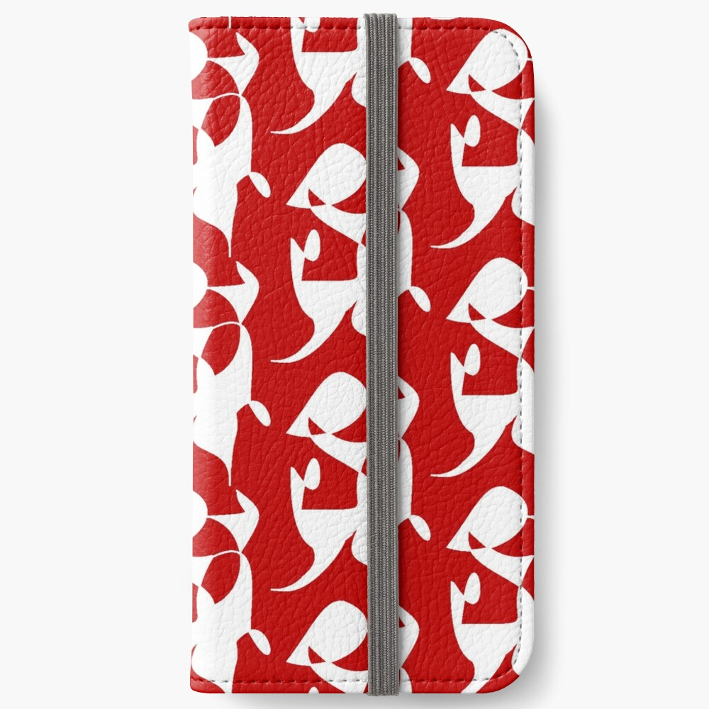 A Bull, Abstract (Designed by Just Stories) iPhone Wallet