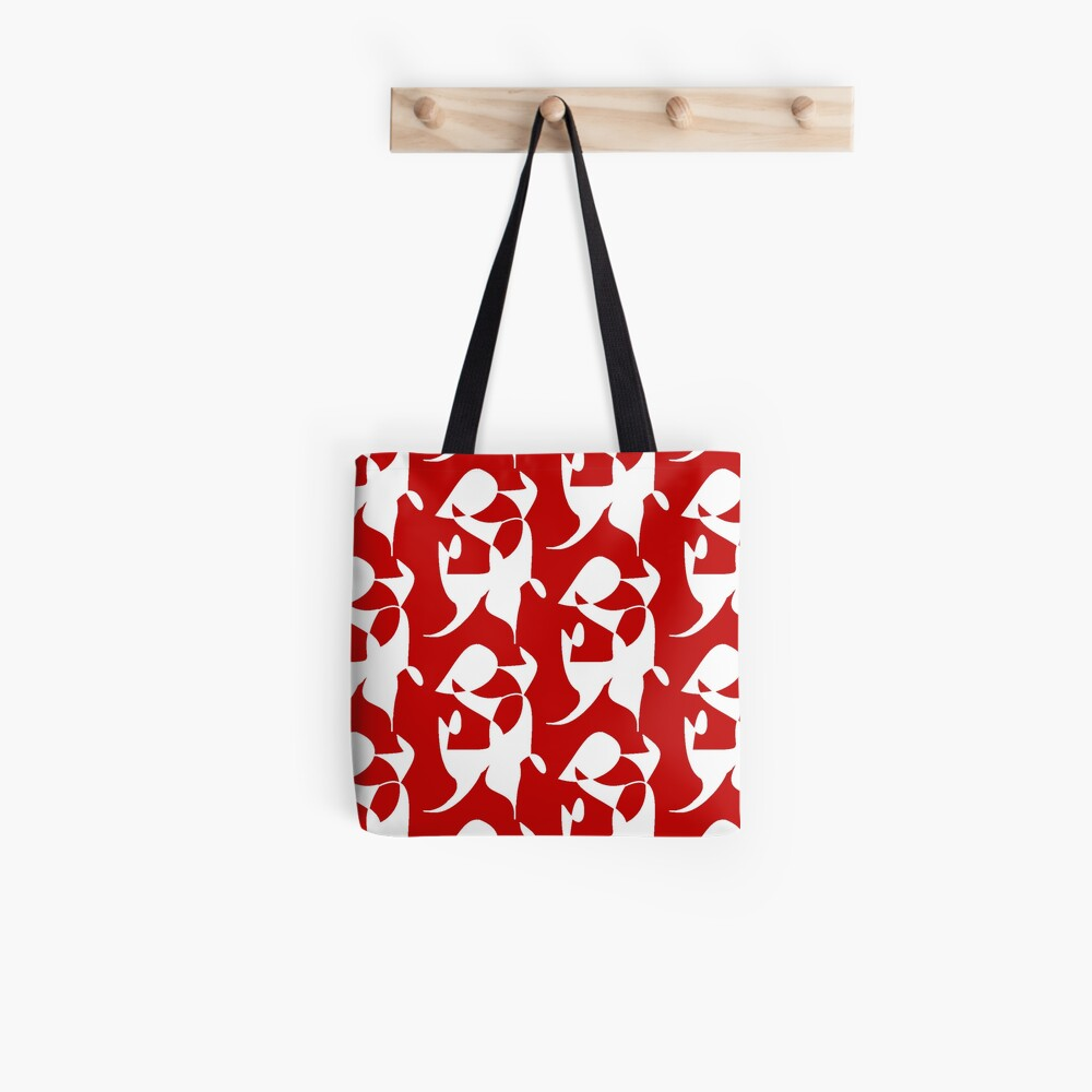 A Bull, Abstract (Designed by Just Stories) Tote Bag