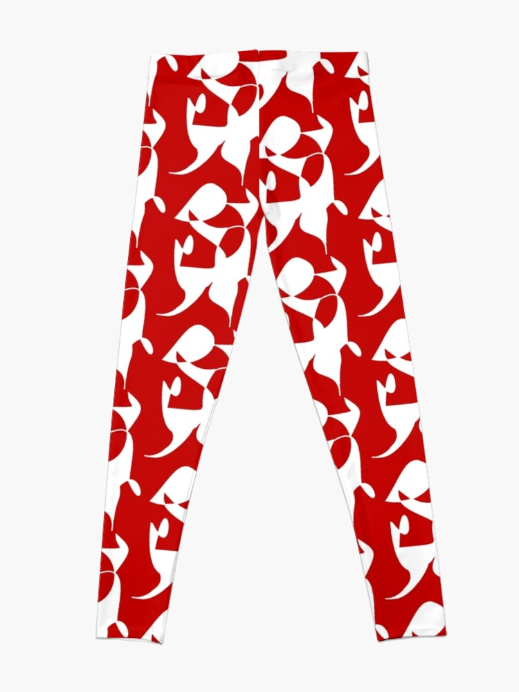 Alternate view of A Bull, Abstract (Designed by Just Stories) Leggings
