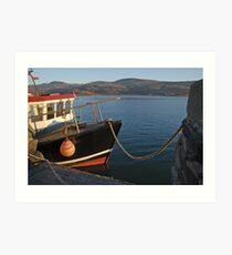 Barmouth Harbour Art Print