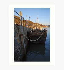 Barmouth harbour No2 Art Print