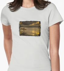 One Last Wave Women's Fitted T-Shirt