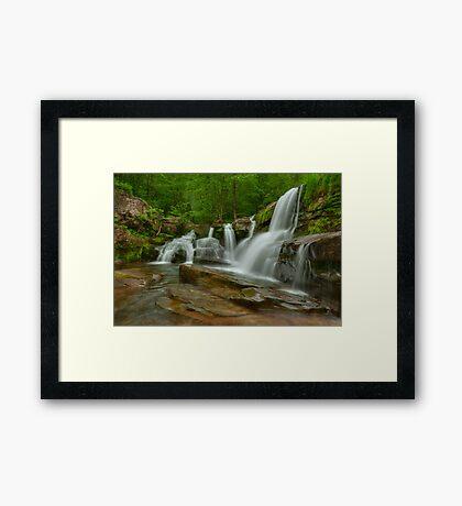 Schalk's Falls- Catskills Framed Print