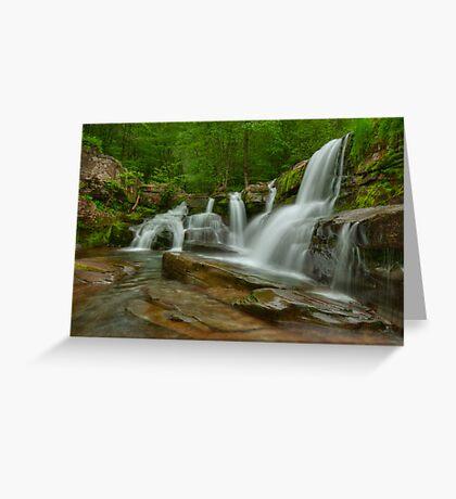 Schalk's Falls- Catskills Greeting Card