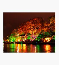 Guilin Night Lights Photographic Print