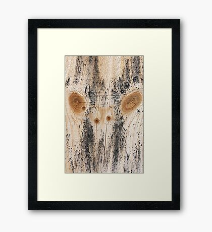 A Monster From Within  Framed Print