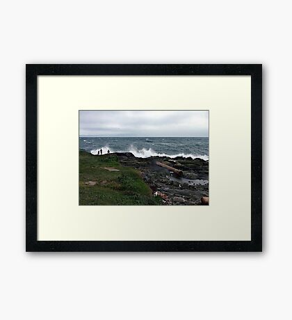 More Storm Watchers Framed Print