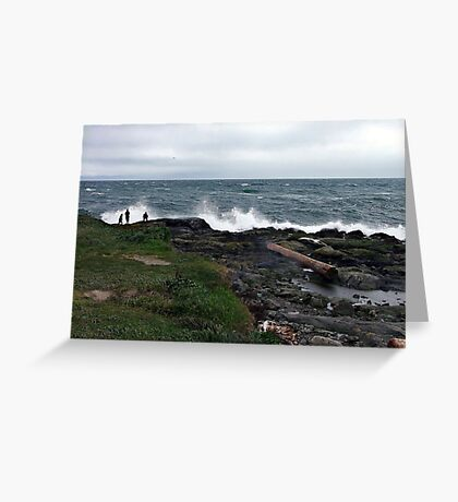 More Storm Watchers Greeting Card