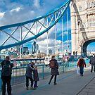 Across Tower Bridge: London, England. by DonDavisUK