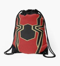 Iron Spider (Iron Spidey) Drawstring Bag