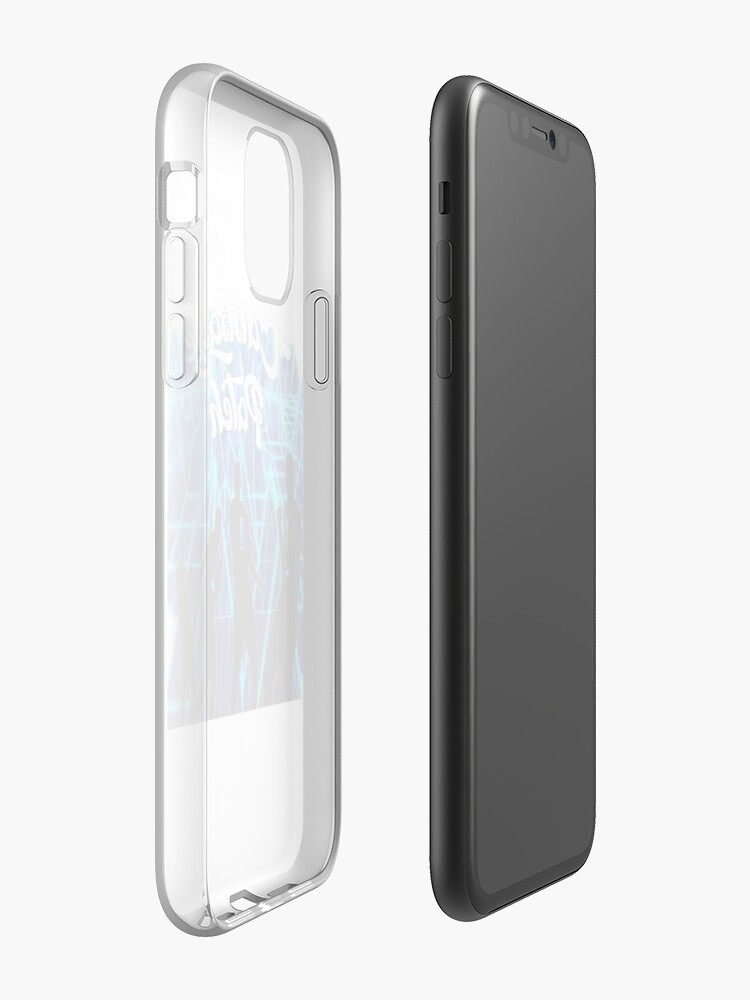 Coque iPhone «Faire le patch de chou», par Flash-Jordan