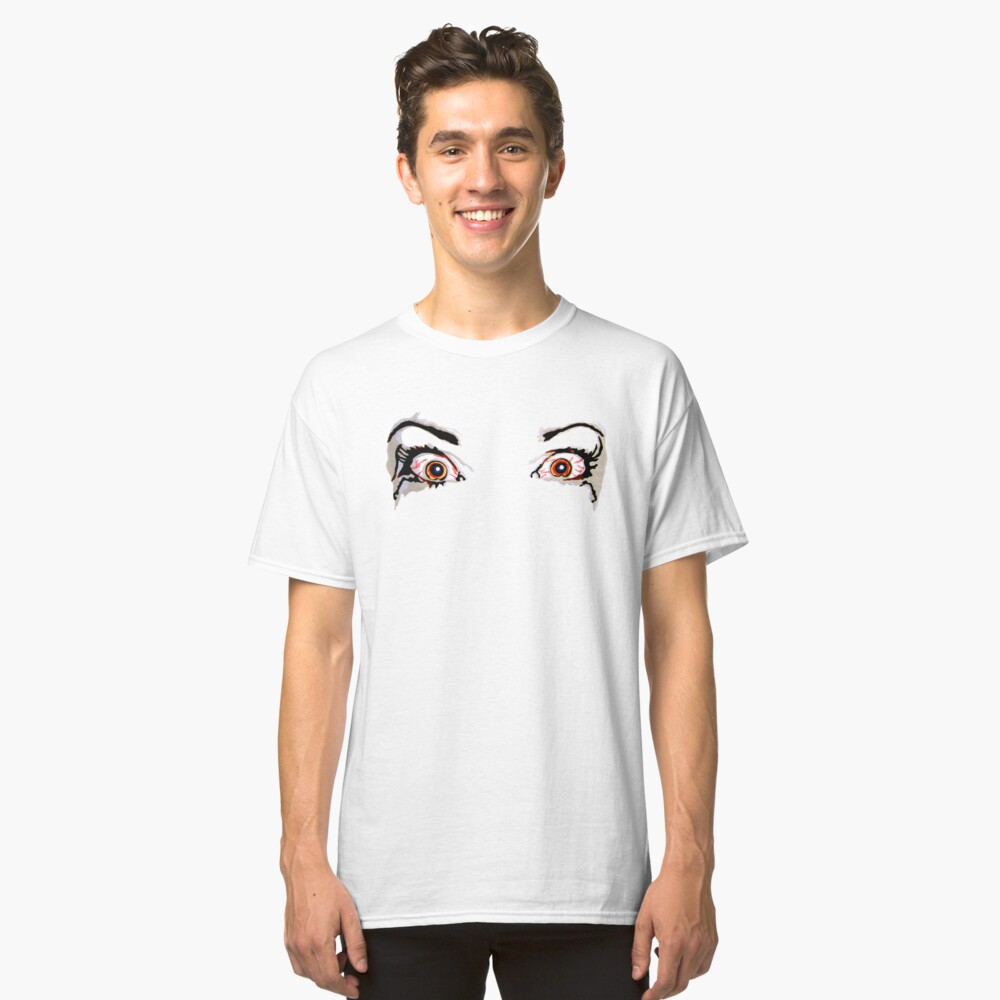 Angry Eyes - Faith and Truth Classic T-Shirt