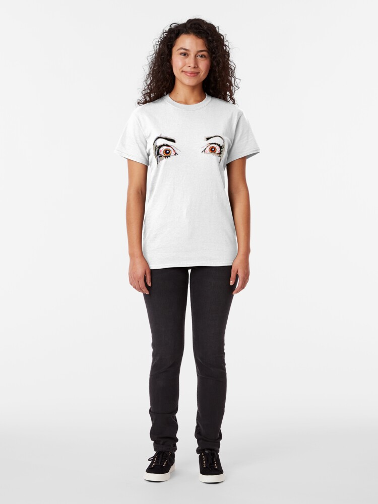 Alternate view of Angry Eyes - Faith and Truth Classic T-Shirt