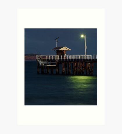 Twilight, Pt Lonsdale Pier Art Print