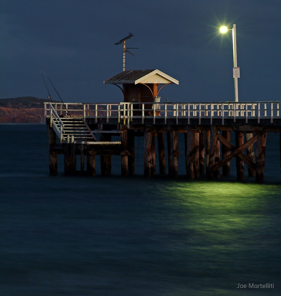 Twilight, Pt Lonsdale Pier by Joe Mortelliti