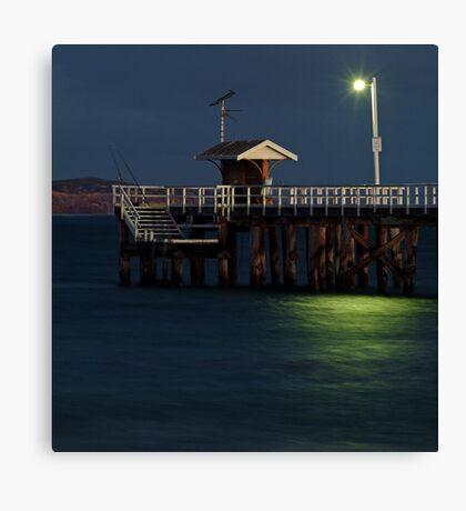 Twilight, Pt Lonsdale Pier Canvas Print