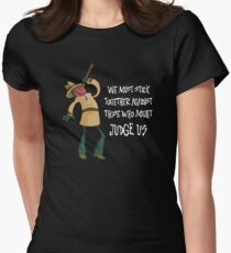 PsychoNauts: G-Man Sewer Worker Women's Fitted T-Shirt
