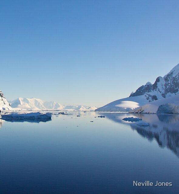 Lemaire Channel, Antarctica by Neville Jones