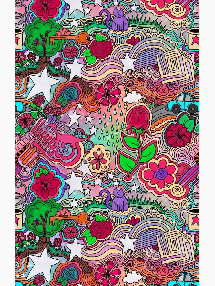 Project 860 Kitschy Colorful Art by BohoBear