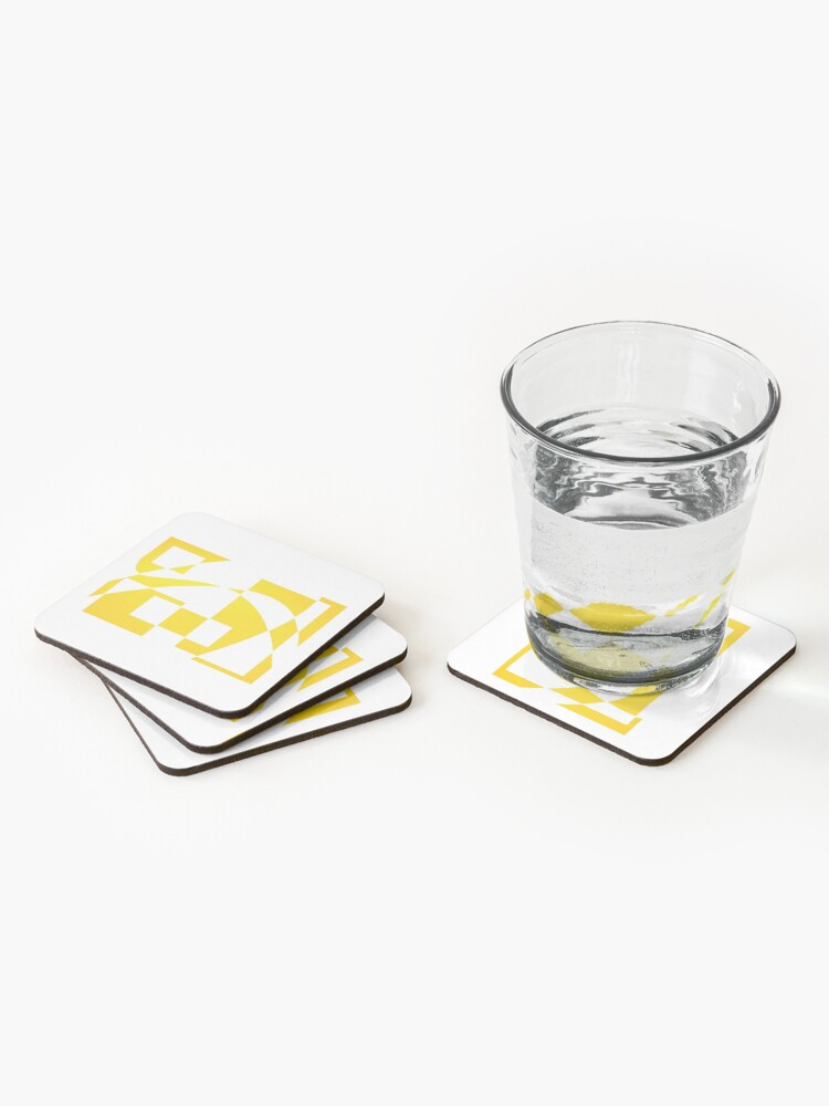 Alternate view of Window & Light, Abstract (Designed by Just Stories) Coasters (Set of 4)