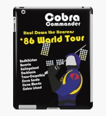 Cobra on Tour iPad Case/Skin