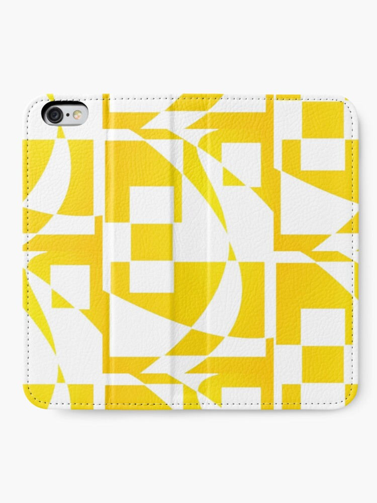 Alternate view of Window & Light, Abstract (Designed by Just Stories) iPhone Wallet