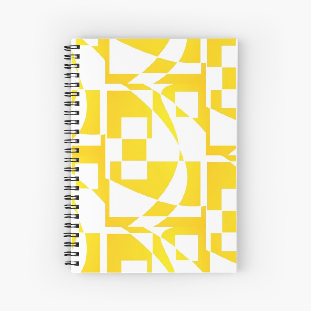 Window & Light, Abstract (Designed by Just Stories) Spiral Notebook