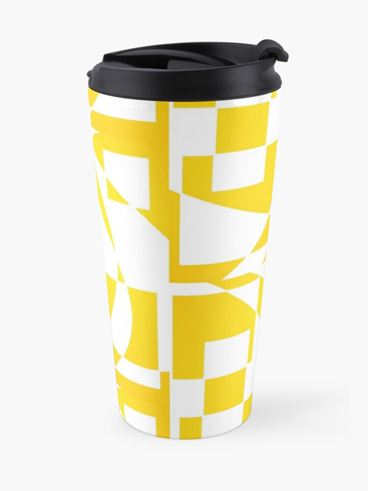 Alternate view of Window & Light, Abstract (Designed by Just Stories) Travel Mug