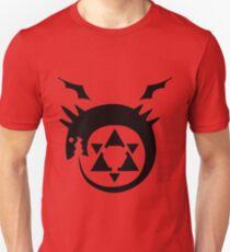 Full Metal Alchemist Brotherhood FMA Alchemy 101 Edward Elric Anime Cosplay T Shirt T-Shirt