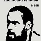 The Beard is Back! by firstdog