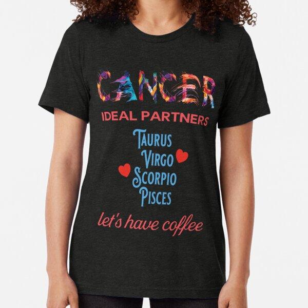 Cancer Ideal Partners Tri-blend T-Shirt