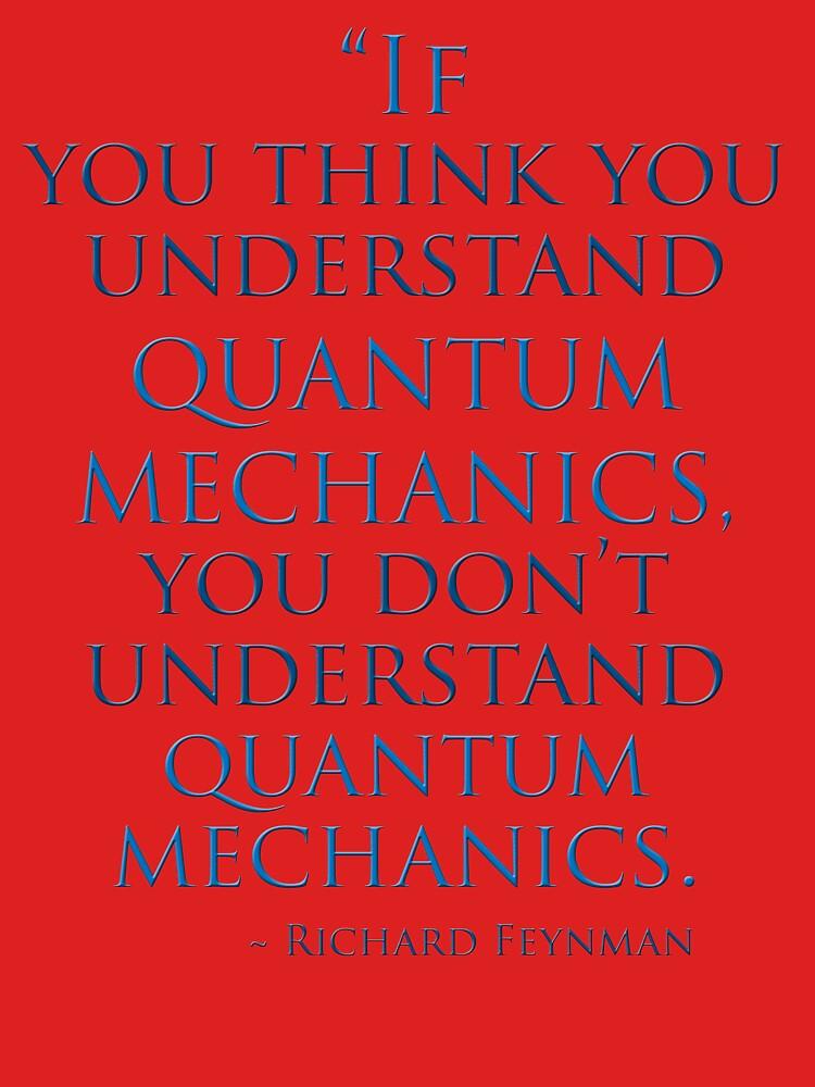 La mecánica cuántica por Richard Feynman de TeaseTees
