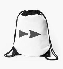 Fast Forward Drawstring Bag