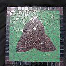 Trinity Knot Mosaic by ClodaghSHiggins