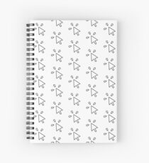 Computer Mouse Click Spiral Notebook