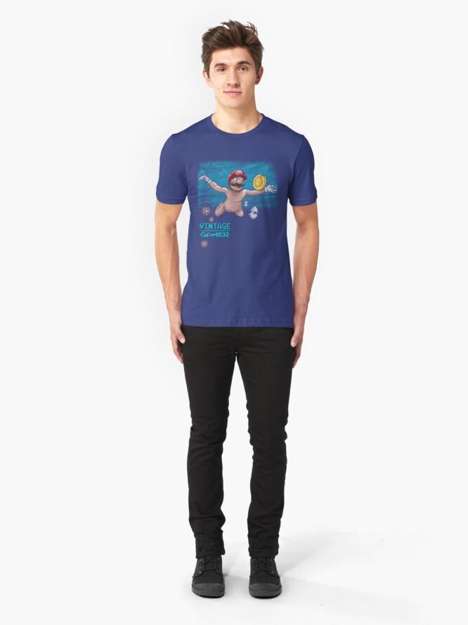 Alternate view of 90's Gamer Slim Fit T-Shirt