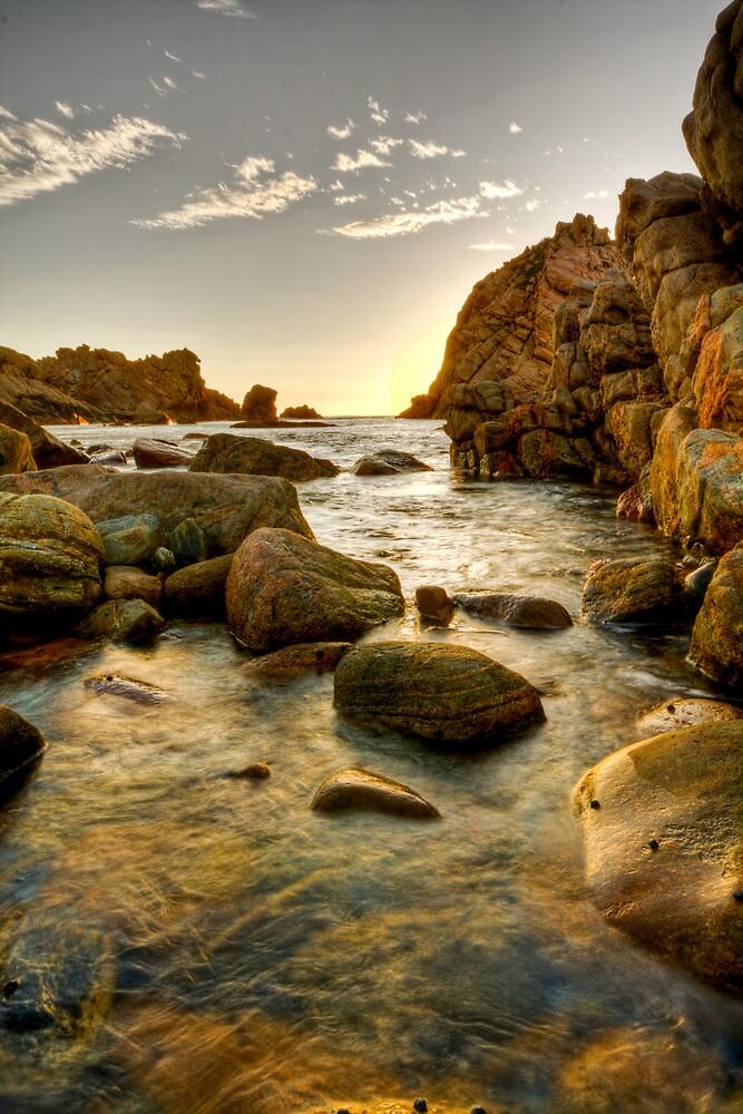 Sugerloaf Rock, Yallingup by Nicole Fenwick