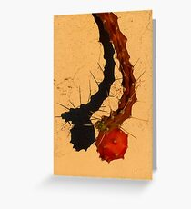 Hoe rooier hoe mooier... Greeting Card