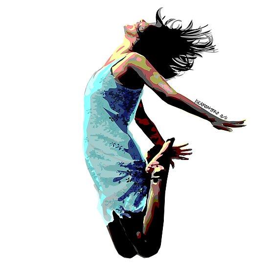Jump for Joy - A Self-Portrait by iskamontero