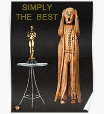 The Scream World Tour Oscars Simply The Best Poster