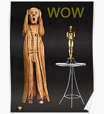 The Scream World Tour Oscars Wow Poster