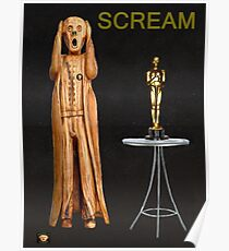 The Scream World Tour Oscars Scream Poster