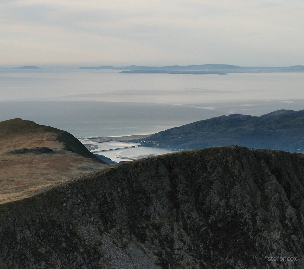 View from Cadir Idris North Wales by stefoncox