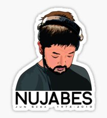 Nujabes Rest in Beats Sticker