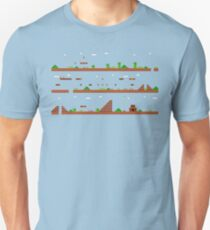 Super Mario Bros World 1-1 Unisex T-Shirt