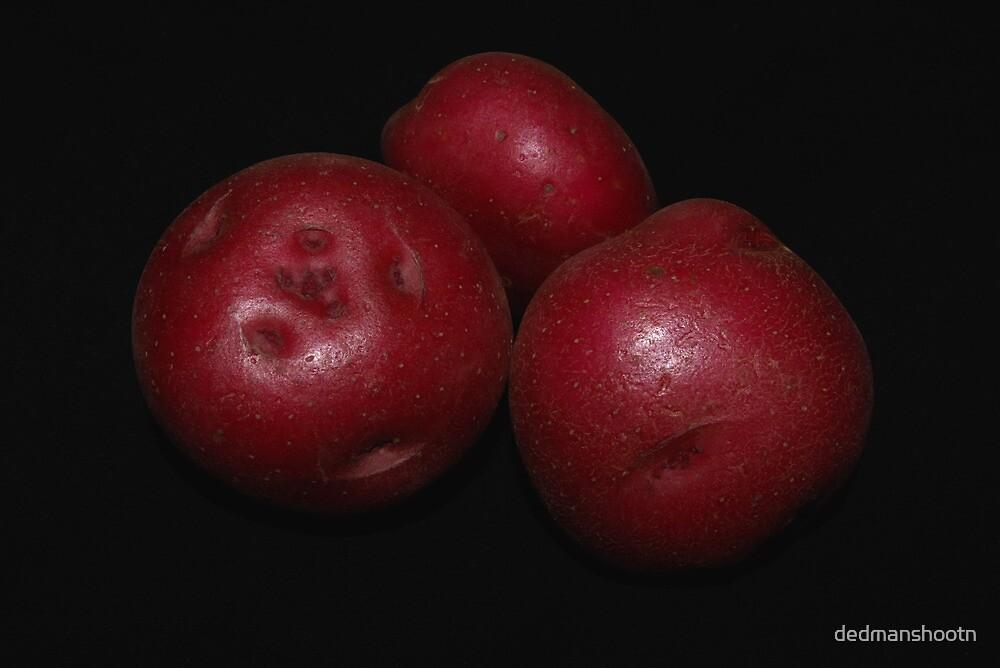potato trio: red by dedmanshootn