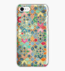 Gilt & Glory - Colorful Moroccan Mosaic iPhone Case/Skin